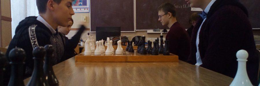Розпочався  традиційний шкільний шаховий турнір імені Олександра Борисовича Рейнгольда