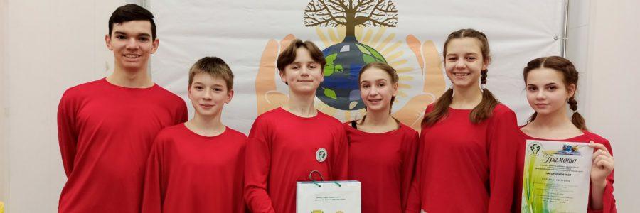 Агітбригада «ЕкоТайм» посіла ІІІ місце в обласному етапі конкурсу