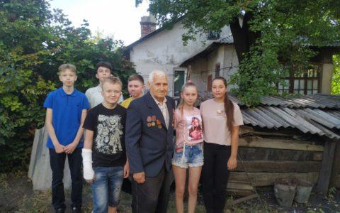 Заходи присвячені   визволенню Донбасу від фашистських загарбників та подіям в Іловайську